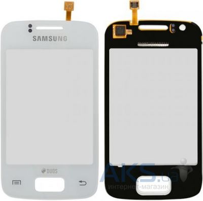 Сенсор (тачскрин) для Samsung Galaxy Y Duos S6102 Original White