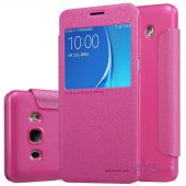 Чехол Nillkin Sparkle Leather Series Samsung J510 Galaxy J5 2016 Pink