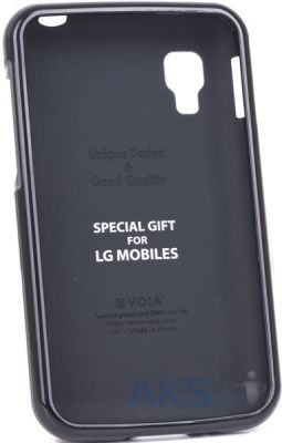 Чехол VOIA Jelly Case LG Optimus L4 II E445 Dual Black
