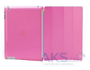 Чехол для планшета Tunewear Eggshell fits Smart Cover Pink for iPad 2