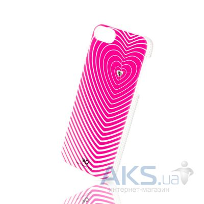 Чехол White Diamonds Heartbeat iPhone 6/6S Pink (1310HBT41)
