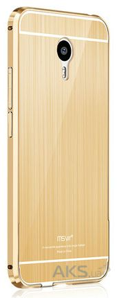 Чехол MSVII Metal Series Meizu M3 Note Gold