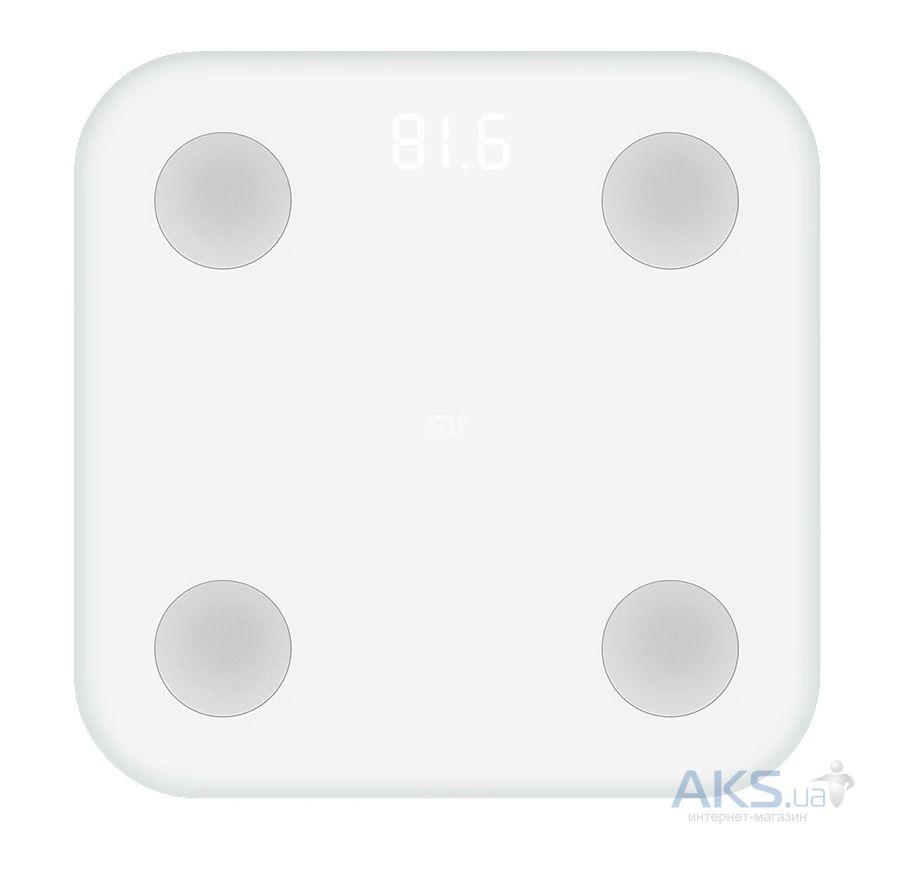 Весы напольные электронные Xiaomi Mi Body Composition Scale 2 - купить в Киеве, Харькове, Днепре, Одессе и Украине - цена, отзывы | AKS.ua