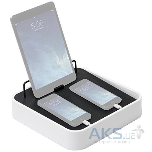 Док-станция Bluelounge Sanctuary4 Multiple Charging Station White (S4-BL)
