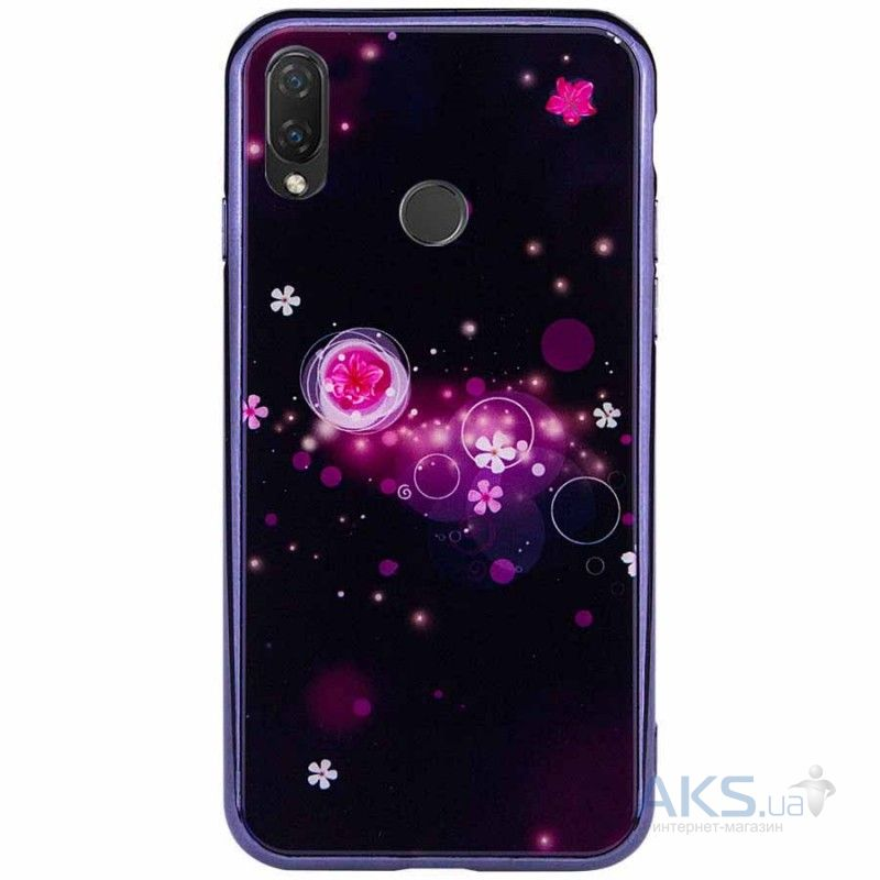 Чехол 1TOUCH TPU Fantasy Xiaomi Redmi Note 7, Note 7 Pro Bulb and Flowers