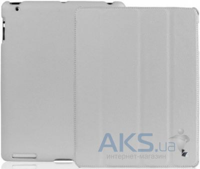 Чехол для планшета JisonCase Ultra-Thin Smart Case for iPad 4/3/2 Grey (JS-IPD-07I60)