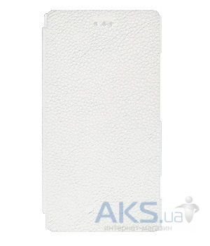 Чехол Melkco Book leather case for Sony Xperia J ST26i White (SEXPEJLCFB2WELC)