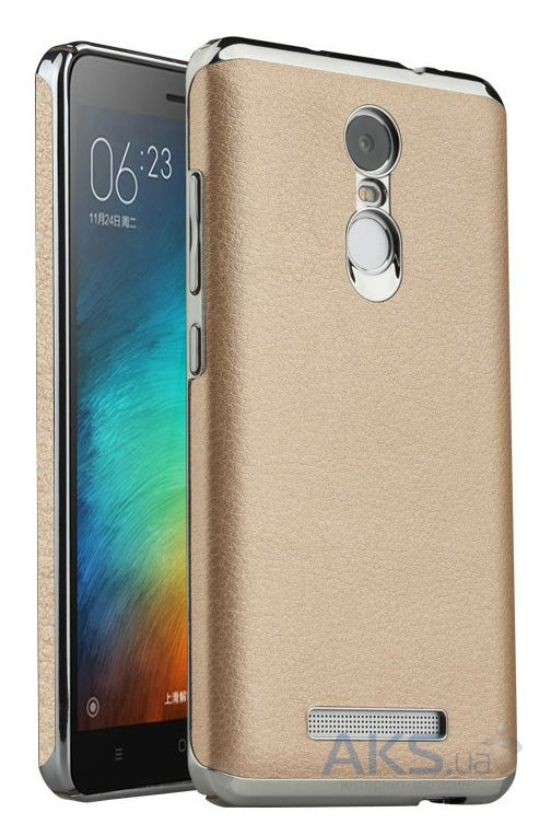Чехол Slenky Buisness Leather Series Xiaomi Redmi Note 3, Redmi Note 3 Pro Gold