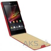 Вид 2 - Чехол TETDED Leather Flip Series Sony Xperia Z1 C6902 Red