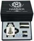 Hammer Style Mechanical Mod Silver