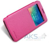 Вид 2 - Чехол Nillkin Sparkle Leather Series LG Optimus L60 X135, X145 Pink