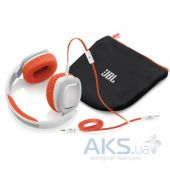 Наушники (гарнитура) JBL On-Ear Headphone J88 White/Orange (J88WOR)