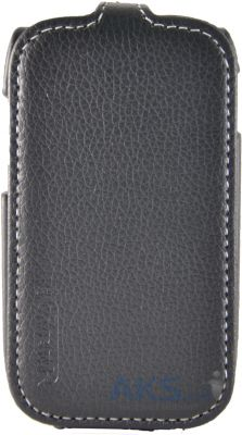 Чехол Carer Base Flip Leather Case for Samsung S5312 Pocket Neo Duos Black
