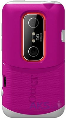 Чехол OtterBox Commuter Case White/Pink for HTC Evo 3D (HTC4-EVO3D-44-E4AVN)