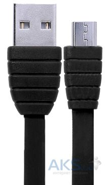 Кабель USB NICHOSI Fashion FFS microUSB Cable Black