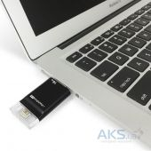 Вид 3 - Гаджет PHOTOFAST i-Flashdrive EVO Plus 16Gb  (USB3.0-micro USB/Lightning) Black (EVOPLUS16GBU3)