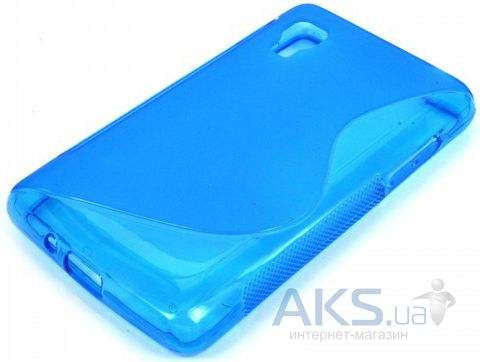 Чехол Original TPU Duotone LG Optimus L4 ll E440 Blue
