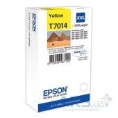 Картридж Epson WP 4000/4500 XXL 3.4k (C13T70144010) Yellow