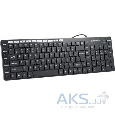 Клавиатура Defender OfficeMate MM-810 (45810) Black