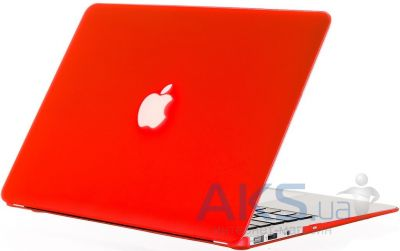 Чехол Kuzy Rubberized Case for MacBook Air 13 Red