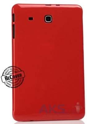 Чехол для планшета BeCover Silicon case Samsung T560 Tab E 9.6 Red (700548)