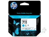 Картридж HP No.711 DesignJet 120/520 3-Pack (CZ134A) Cyan