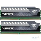 Оперативная память Patriot DDR4 8GB (2x4GB) 2133 MHz Viper (PVE48G213C4KGY)