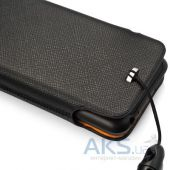 Вид 2 - Чехол Capdase id Pocket Luxe Black/Orange for HTC One V T320E (DPHCT320E-H217)