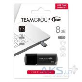 Вид 3 - Флешка Team 8GB C153 USB 2.0 (TC1538GB01) Black