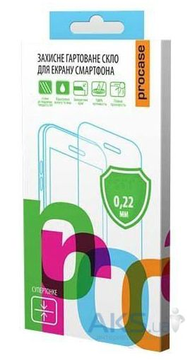 Защитное стекло Pro-Case 0.22 mm Motorola Moto X Play