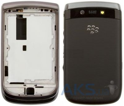 Корпус Blackberry 9800 Black