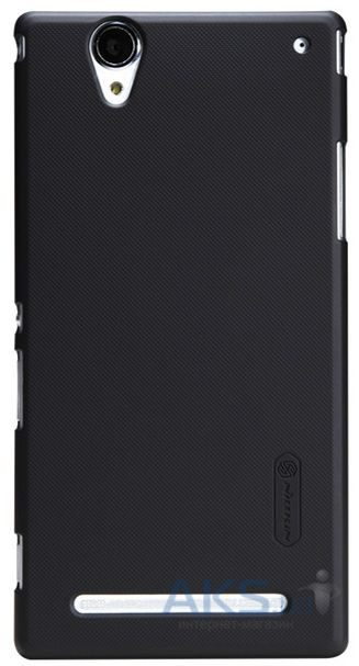 Чехол Nillkin Super Frosted Shield Sony Xperia T2 Ultra D5303, Xperia T2 Ultra D5322 Black