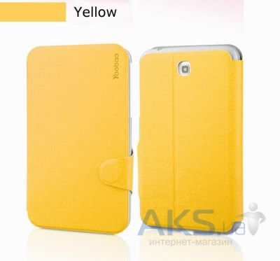 Чехол для планшета Yoobao Fashion leather case for Samsung T210/211 Galaxy Tab 3 7.0 Yellow (LCSAMP3200-FYL)