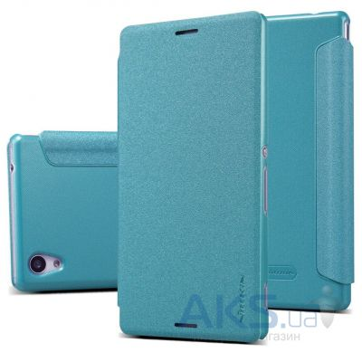 Чехол Nillkin Sparkle Leather Series Sony Xperia M4 Aqua E2303 Turquoise