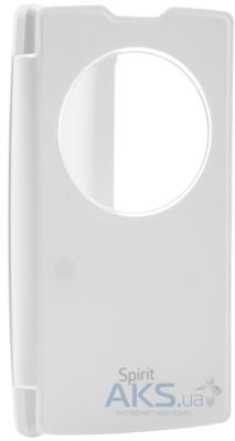 Чехол VOIA Flip Case LG Optimus Spirit White