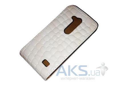 Чехол Atlanta Book case for Samsung G313 Ace Style White