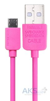 Кабель USB Remax Light micro USB Pink (RC-006m / 5-027)