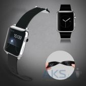Baseus iWatch Genuine Leather Strap fro Apple Watch 38mm Classic (MJ322) Black
