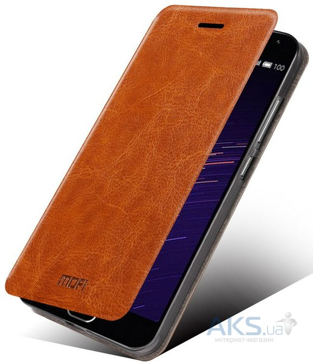 Чехол Mofi Leather Series Meizu M2 Note Brown