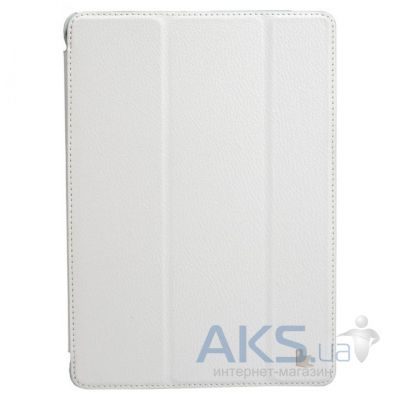 Чехол для планшета JisonCase PU leather case for iPad Air White [JS-ID5-09T00]