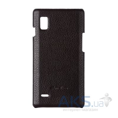 Чехол Melkco Leather Snap Cover for LG Optimus L9 P760 Black (LGP760LOLT1BKLC)