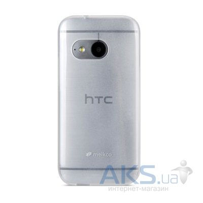Чехол Melkco Poly Jacket TPU case HTC One M8 Mini Transparent