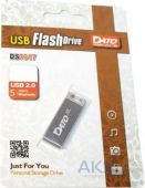 Флешка Dato 8GB DS7016 USB 2.0 (DT_DS7016S/8Gb) silver