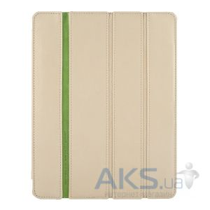 Чехол для планшета Teemmeet Smart Cover for iPad 4/iPad 3/iPad 2 Beige (SM03603901)