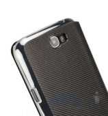 Вид 2 - Чехол NavJack Corium series flip case for Samsung N7100 Galaxy Note II Taupe Gray (J016-16)