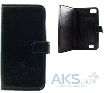 Чехол Book Cover Sticker for Fly IQ4404 Black