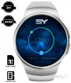 Умные часы SmartYou S1 Silver with White strap (SWS1W)