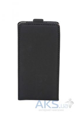 Чехол Leaf leather flip case for HTC One M7 Black