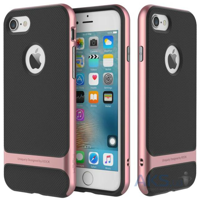 Чехол Rock Royce Series Apple iPhone 7 Rose Gold