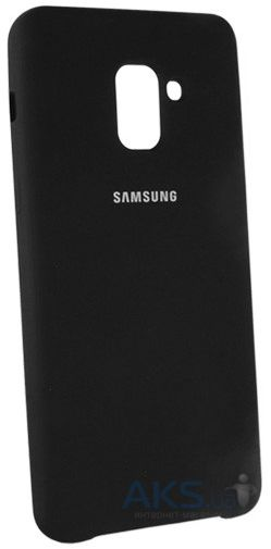 Чехол 1TOUCH silicone case Samsung A730 Galaxy A8 Plus 2018 Black